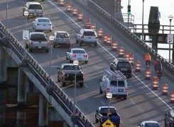 Day One – Legare Bridge Bike & Pedestrian Lane Test